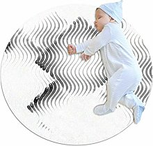 chuangxin White Wave Kitchen rug washable entryway
