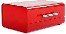 Chudleigh Siya Bread Bin August Grove Colour: Red