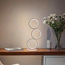 CHUIX Table Lamp Touch Dimmar Modern Bedside Lamp