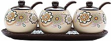 chun li zhang Spice Jars-Spice Jars With Lids