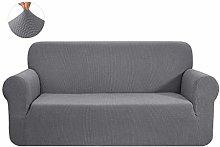 CHUN YI 1 Piece Jacquard Sofa Covers Stretch