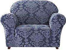 CHUN YI Floral Jacquard Sofa Cover Stretch 1