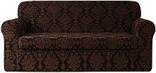 CHUN YI Floral Jacquard Sofa Cover Stretch 3