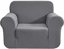 CHUN YI High Stretch Sofa Covers 1 Seater Jacquard