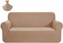 CHUN YI High Stretch Sofa Covers 2 Seater Jacquard