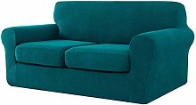 CHUN YI Stretch Sofa Cover with 2 Separate Seat