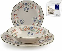 Churchill 829581 Tableware Set 18 Pieces, Earthware