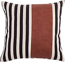 CHYSP Faux Leather Pillow Cover Cushion Cover