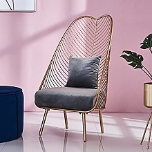 CHYSP New Metal Steel Leisure Chair Iron Wire