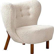 CHYSP Nordic Single Sofa Balcony Lounge Chair Home