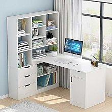 Chyuanhua Desk Wood Writing Desk Computer PC