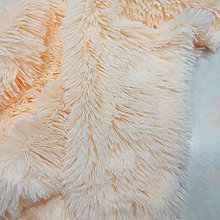 CHZIMADE Faux Fur Velvet Plush Fabric Soft
