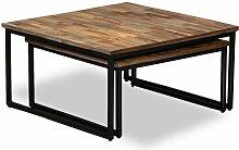 Cian 2 Piece Coffee Table Set Union Rustic