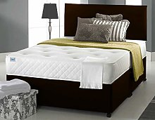 Ciana Faux Leather Divan Bed Set With Memory