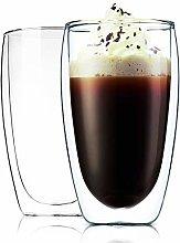 Cicike Double Walled Glass Coffee Mug | Glasses