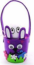 CIDCIJN Easter Egg Basket - Pasen Mand Lovely