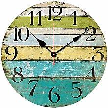 CIFFOST Creative clock wall clock, European retro