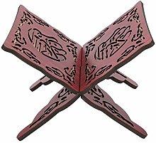 Cikonielf 2Pcs Koran Stand Wooden Book Stand