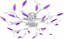 Cikonielf Purple + white modern style ceiling