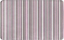 CIKYOWAY Bathroom Mat Stripes Abstract Geometric