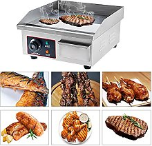 cilyberya Electric Countertop Griddle Grill