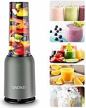 Cincred Personal Countertop Blender For Milkshake,