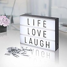 Cinema Light Box, Light Letter Box, Light Up Box