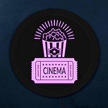 Cinema Movie Night Theme Wall Hanging Light Custom