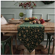 Cinnanal Bedside Table Runner Christmas Table
