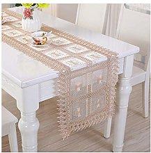 Cinnanal Beige Yellow Table Runner Modern 40x220cm