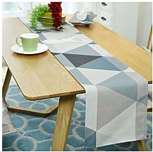 Cinnanal Blue Table Runners for Coffee Tables
