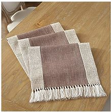 Cinnanal Brown Table Runner Festive 38x160cm