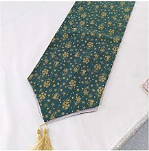Cinnanal Green Table Runner for Coffee Table