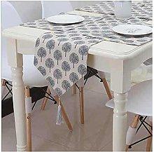 Cinnanal Grey Beige Table Runner Decoration