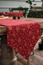Cinnanal Heatproof Table Runner Christmas Table