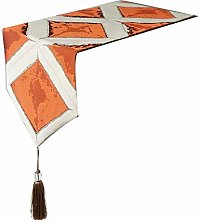 Cinnanal Orange Table Runners for Coffee Tables