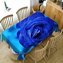 Cinnanal Rectangular Tablecloth Indoor Polyester