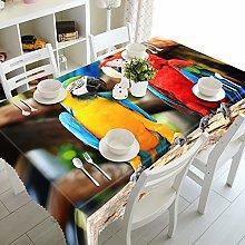 Cinnanal Rectangular Tablecloth Kids Party