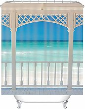 Cinnanal Short Shower Curtain Shower Curtains for