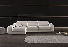 Cinthia Italian Reclining Leather Corner Group