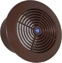 Circle Air Vent Grill Cover 125mm (5inch) Ducting