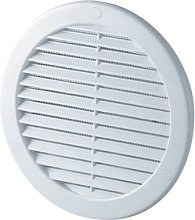 Circle Air Vent Grille Cover 241mm (9.5inch) White