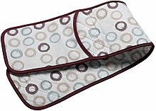 Circle Pattern Quilted Double Oven Glove Kitchen
