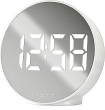 Circulo Tabletop Clock Acctim Colour: White