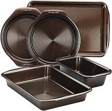 Circulon 46015 Nonstick Bakeware Set, Steel,