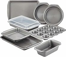 Circulon 47485 Nonstick Steel Bakeware Set, Gray