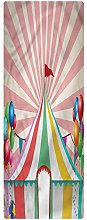 Circus Area Runner Rug, 2'x5', Vintage