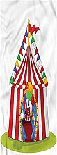 Circus Kitchen Mat, 2'x4', Joker Clown