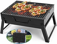 CISLAN Barbecue Grill Folding Charcoal Portable