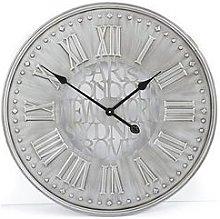 Cities Metal Wall Clock 60 Cm